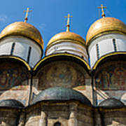 Dormition Cathedral - Square Art Print