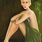 D'oro Verde Art Print