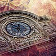 D'orsay Clock Paris Art Print
