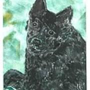 Doting Eyes Art Print