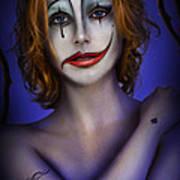 Double Face Art Print by Alessandro Della Pietra