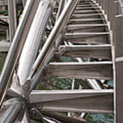 Double Helix Bridge 03 Art Print