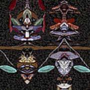 Double Totem Art Print