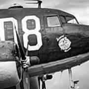 Douglass C-47 Skytrain - Nose Section - Dakota Art Print