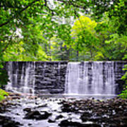 Dove Lake Waterfall At Gladwyne Art Print
