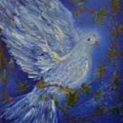 Dove Spirit Of Peace Art Print by Louise Burkhardt
