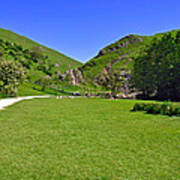 Dovedale - Stepping Stones Area Art Print