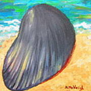 Down By The Seashore Art Print
