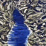 Down Flow Art Print