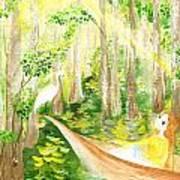 Down The Bayou Art Print
