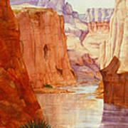 Down The Canyon - Day Two Art Print