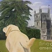 Downton Abbey Art Print