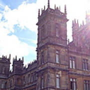 Downton Abbey In A Ray Of Sunlight Art Print