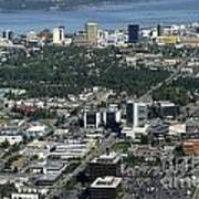 Downtown Anchorage Alaska Art Print