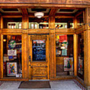 Downtown Athletic Club - Prescott Arizona Art Print