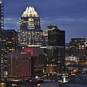 Downtown Austin 3 Art Print