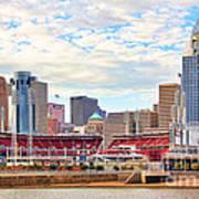 Downtown Cincinnati 9885 Art Print