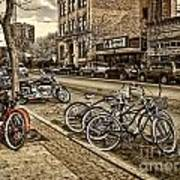 Downtown Coeur D'alene Idaho Art Print