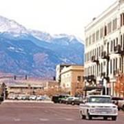 Downtown Colorado Springs  Colorado Art Print