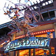 Downtown Disney Anaheim - 121211 Art Print