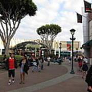 Downtown Disney Anaheim - 12122 Art Print