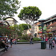 Downtown Disney Anaheim - 12128 Art Print