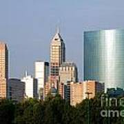 Downtown Indianapolis Indiana Art Print
