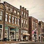 Downtown Jonesborough Art Print
