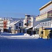 Downtown Mackinac In The Early Morning Art Print