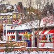 Patsy's Candies In Snow Art Print