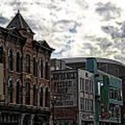 Downtown Nashville Art Print