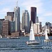 Downtown Skyline Of Toronto Ontario Art Print