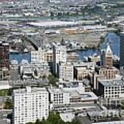 Downtown Tacoma Washington Art Print