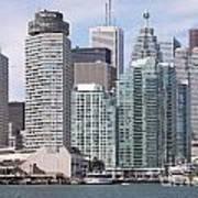 Downtown Toronto Ontario Art Print