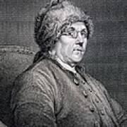 Dr Benjamin Franklin Art Print