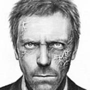 Dr. Gregory House - House Md Art Print