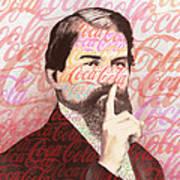 Dr. John Pemberton Inventor Of Coca-cola Art Print