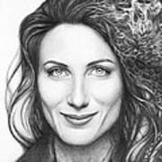 Dr. Lisa Cuddy - House Md Art Print by Olga Shvartsur