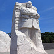 Dr Martin Luther King Memorial Art Print