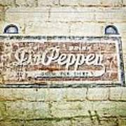 Dr Pepper-good For Life Art Print
