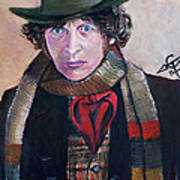 Dr Who #4 - Tom Baker Art Print