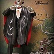 Dracula Model Kit Art Print