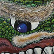 Dragon Cyclops Art Print