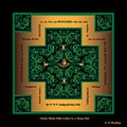 Dragon Egg Celtic Cross Art Print