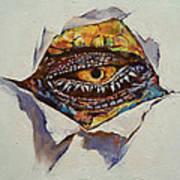 Dragon Eye Art Print