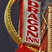 Dragon Inn Restaurant  Art Print
