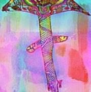 Dragon Kite Art Print