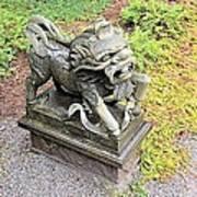 Dragon Of The East Art Print
