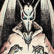 Dragon Sorceror Art Print