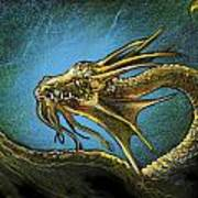 Dragonbliss Art Print by Lynette Yencho